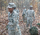 Cadet Wilkins focused on training her Cadets